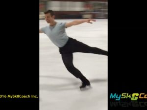 CrossOver Hop Exercise Jeff Buttle