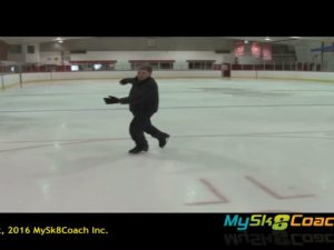 Lutz Jump Exercise Young Skater