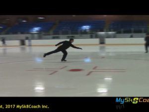 Salchow Take Off Forwards